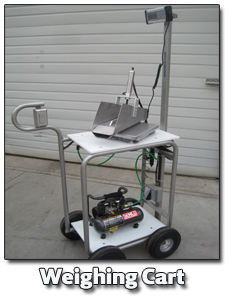weighing cart